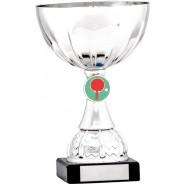 Silver Cup Trophy with Table Tennis Insert