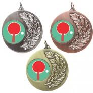 Table Tennis Laurel Medals