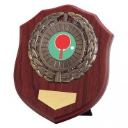 Meath Mahogany Plaque with Table Tennis Insert
