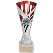 Dragon Trophy Silver & Red