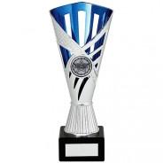 Dragon Trophy Silver & Blue