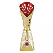 All Stars Deluxe Rapid Trophy Gold & Red