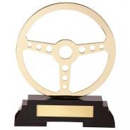 Arcadia Steering Wheel Metal Award