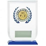 Multisport Glass Award with Triathlon Insert