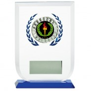 Multisport Glass Award with Victory Insert