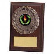 Shannon Cherrywood Plaque with Victory Insert
