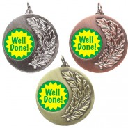 Well Done Laurel Medals