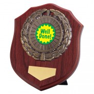 Meath Mahogany Plaque with Well Done Insert