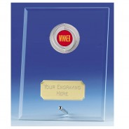 Crest Jade Glass Plaque with Winners Insert