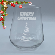 Christmas Old Fashioned Tumbler 350ml