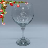 Christmas Gin and Tonic Glass 645ml