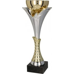 Gold & Silver Cup on marble base