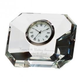 Infinity Crystal Clock