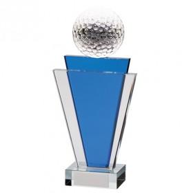 Gauntlet Tower Crystal Golf Award