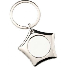 Metal Keyring - Star