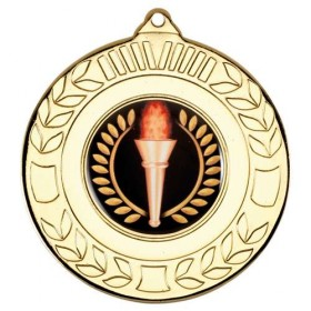 Wreath Medal - 2 inch