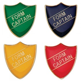 Scholar Pin Badge Form Captain